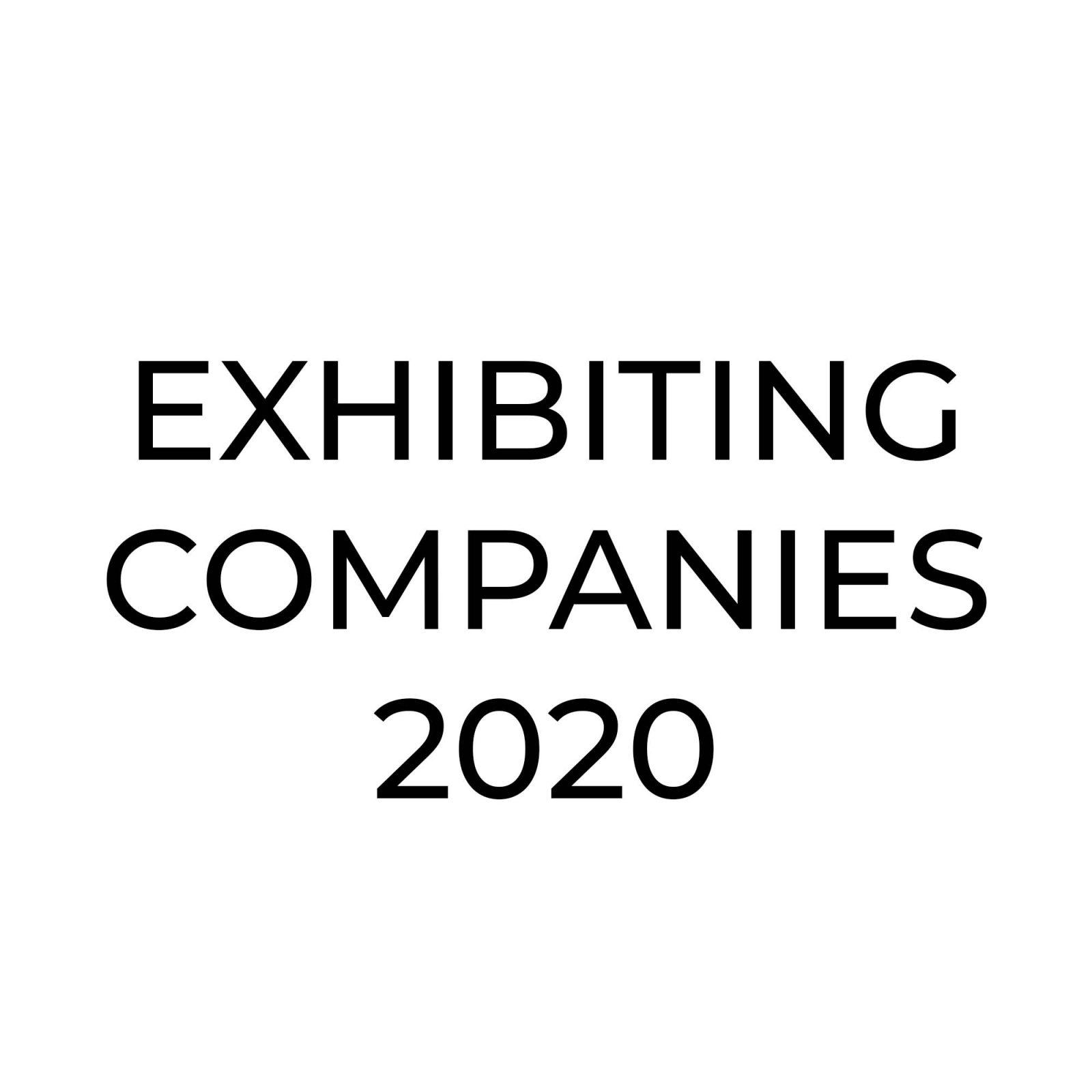 exhibiting companies